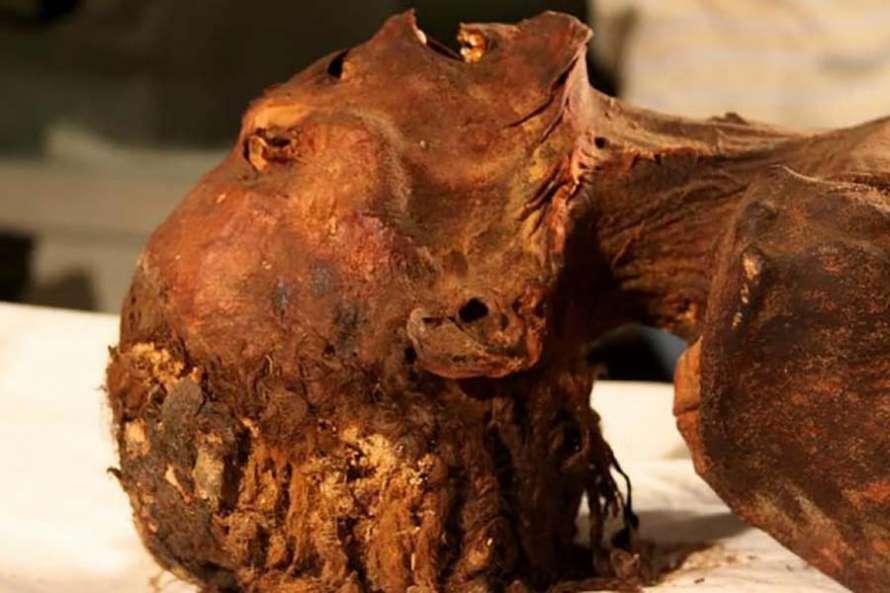 ВЕгипте археологи провели исследование «мумии кричащей женщины»