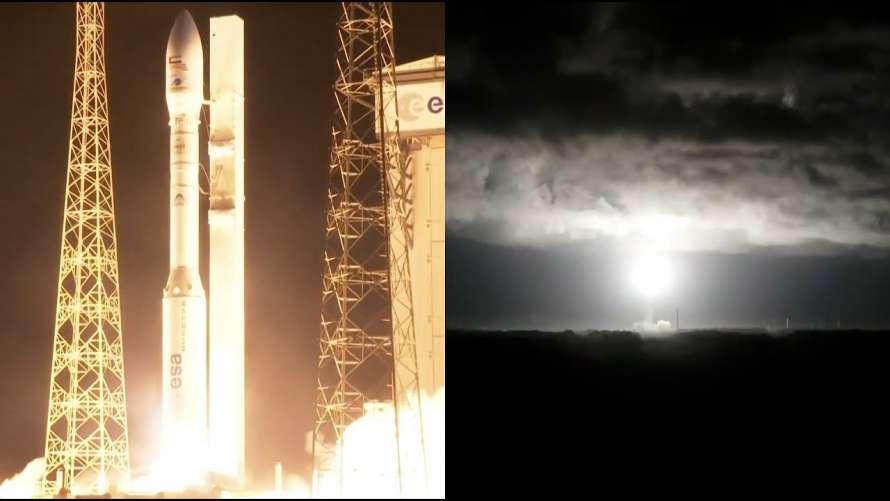 Наука и технологииFalcon Eye 1Ракета-носитель Vega не смогла вывести военный спутник ОАЭ на орбиту<br /> 12:17 11 июл.488
