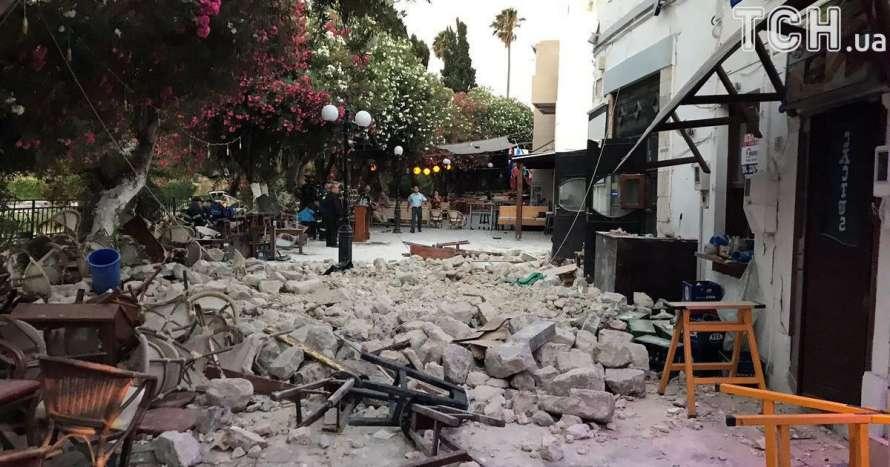 Два землетрясения произошли вГреции засутки