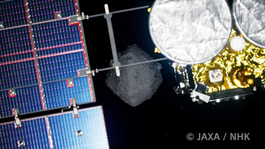 Наука и технологииКосмосЯпонский зонд Хаябуса-2 успешно состыковался с астероидом Рюгу09:48 11 июл.821Ч