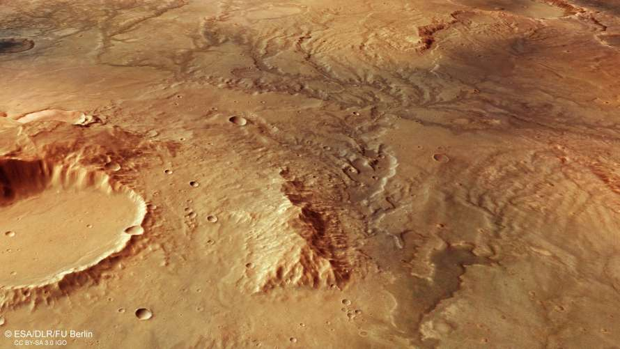 НаМарсе найдены следы старинных рек— Тайна Красной планеты
