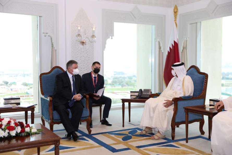 Аваков провел встречу с премьер-министром Катара