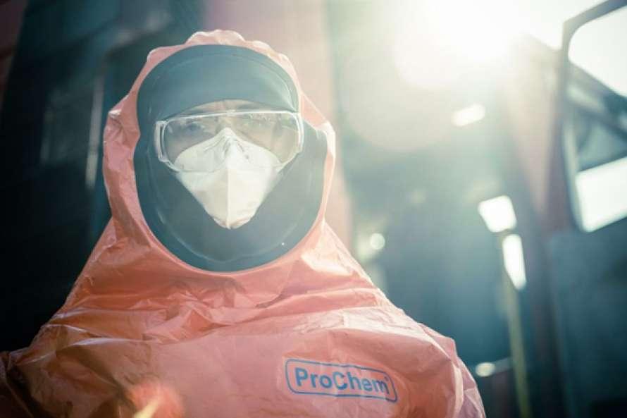 Спасатели ГСЧС провели санитарную обработку уже более 88 тысяч объектов и 49 тысяч км автодорог