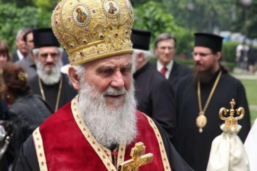 От коронавируса скончался сербский патриарх