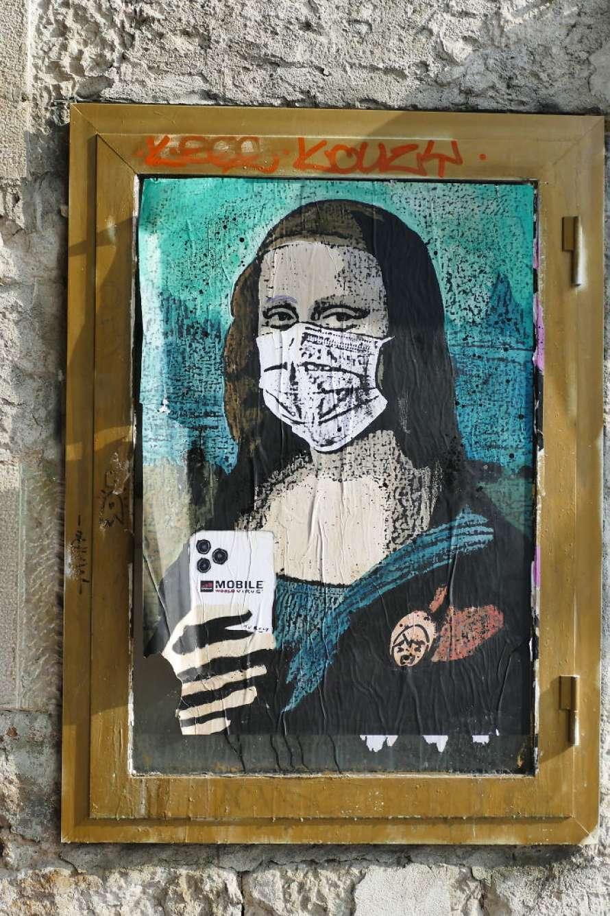 Коронавирус в искусстве: впечатляющие граффити со всего мира