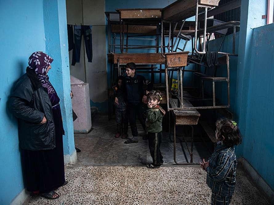 Сирийские школьники из-за коронавируса не смогут закончить учебный год