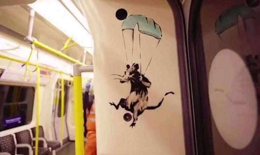 Бэнкси крысы Лондон