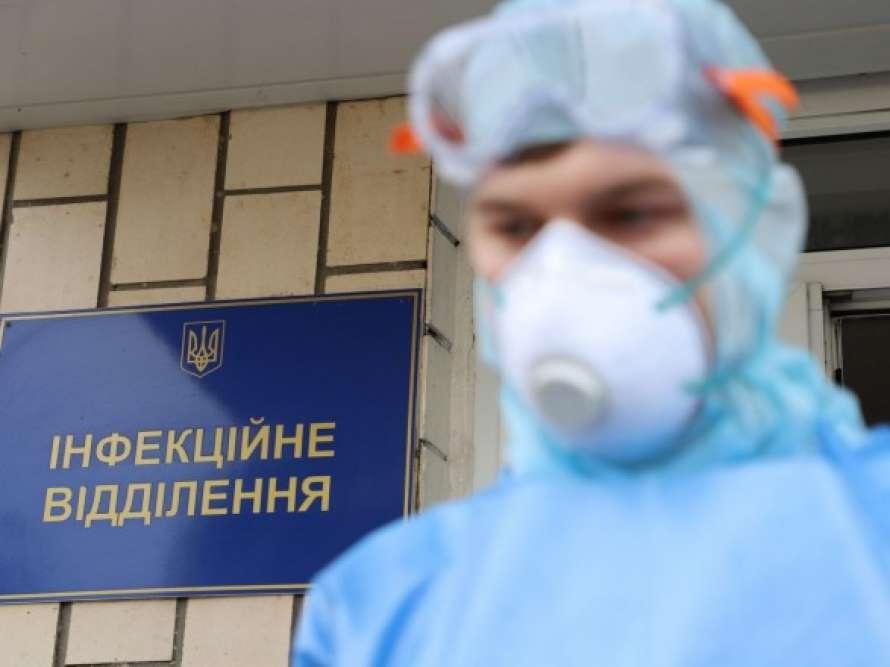 В Киеве за сутки умерло полсотни больных коронавирусом