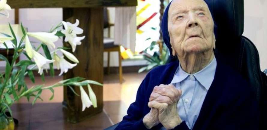116-летняя монахиня победила коронавирус