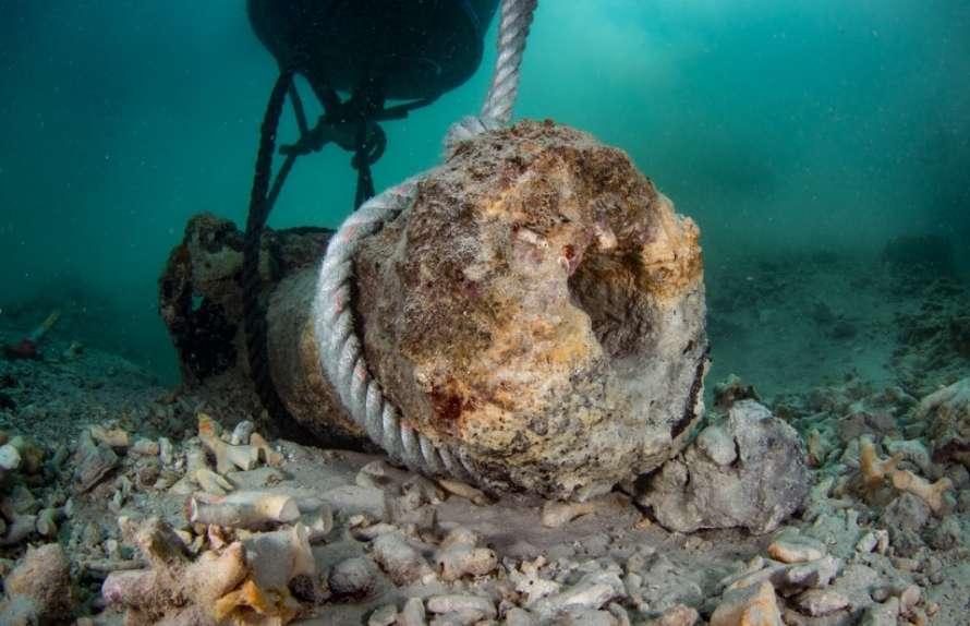 Археологи нашли древний город на дне моря
