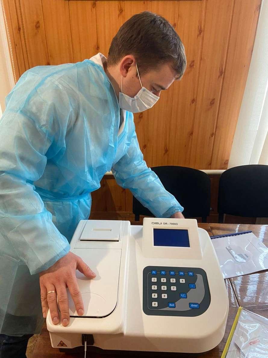 УФСИ за счет правительства Германии финансирует ремонт амбулаторий и их обеспечения необходимым оборудованием
