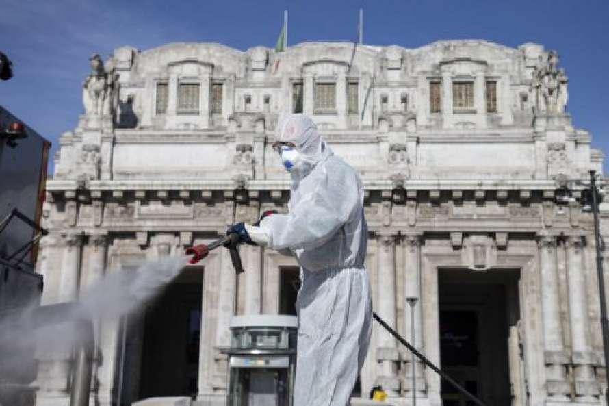 Количество жертв коронавируса в Италии возросло до 35 тысяч