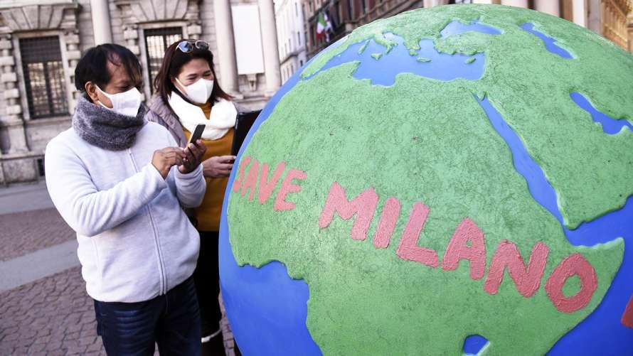 Вирусолог предупредил о возможной вспышке коронавируса в Милане