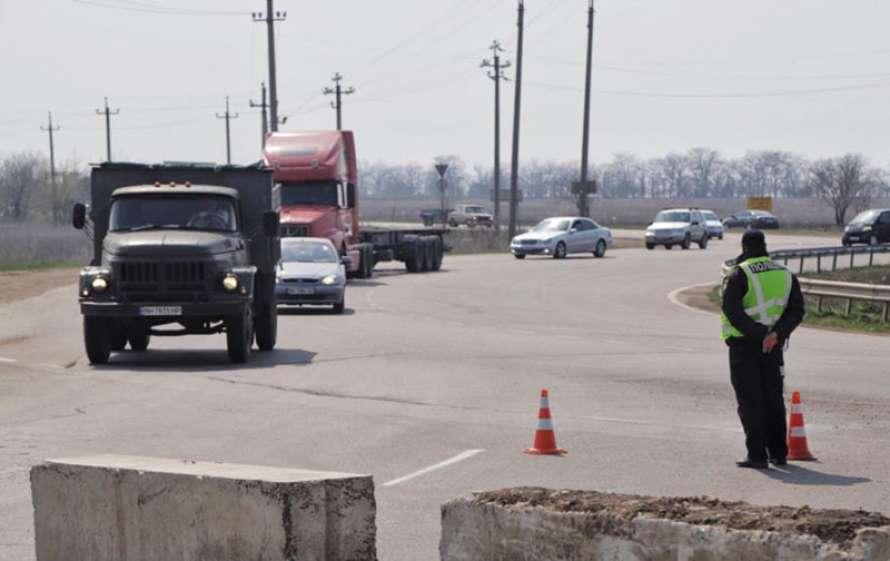 Коронавирус: в Одессе устанавливают блок-посты и проводят рейды