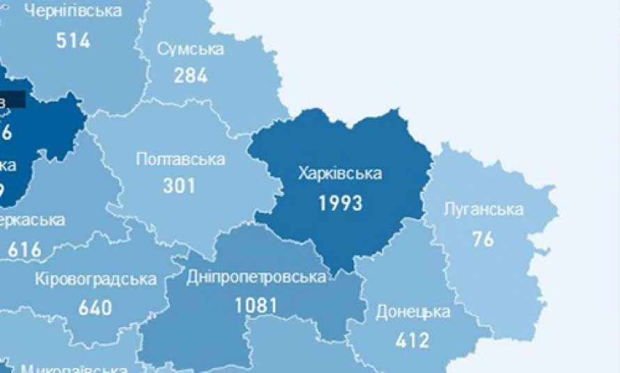 На Харьковщине резко возросла смертность от коронавируса