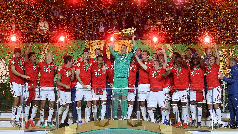 «Бавария» в 20-й раз выиграла Кубок Германии по футболу