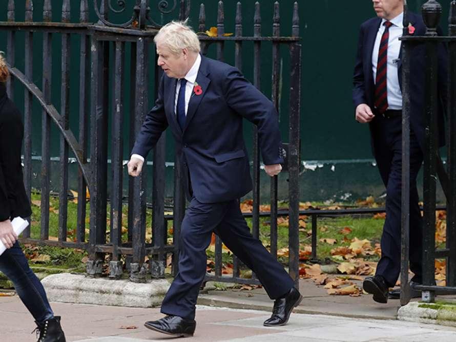 Премьер-министр Великобритании повторно ушел на самоизоляцию